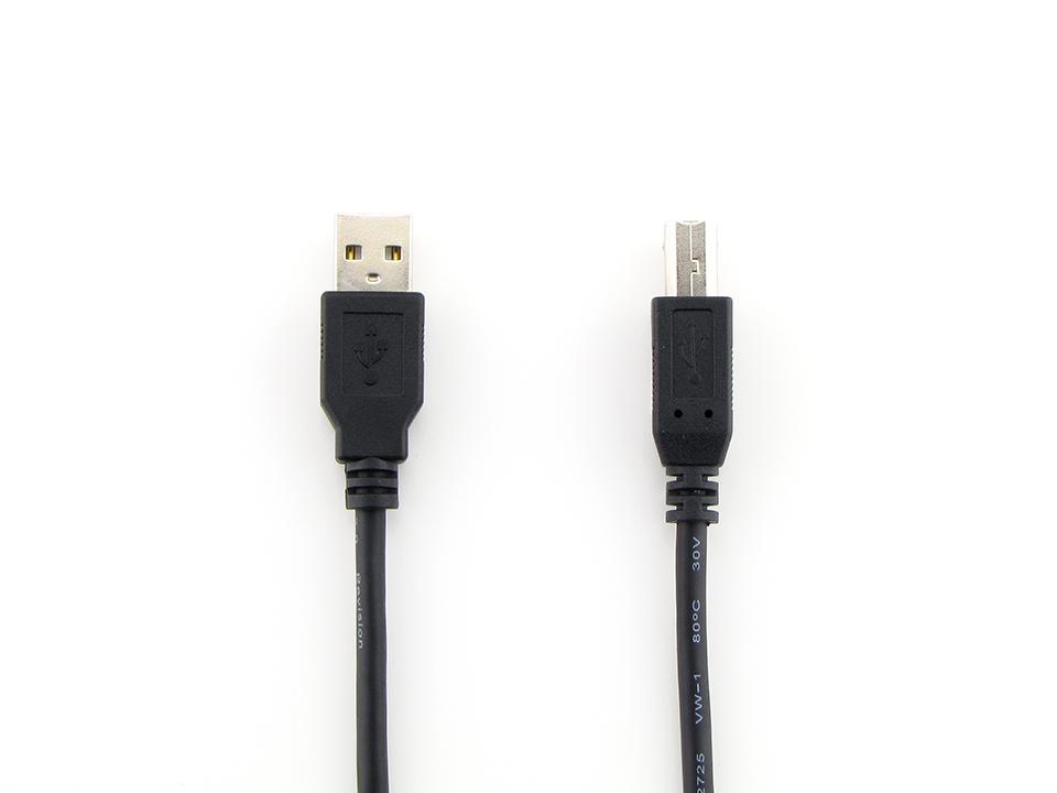 USBケーブル2.0 A-Bタイプ