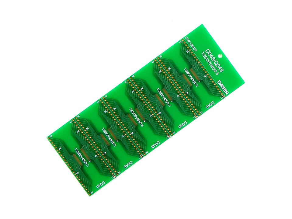 48ピンICピッチ変換基板