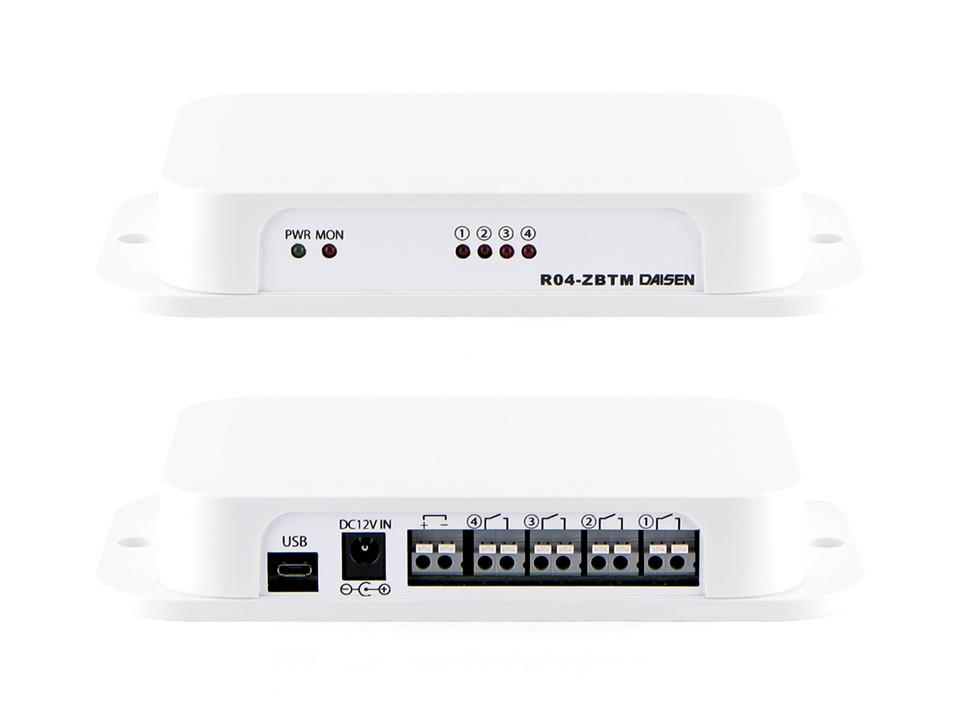4点出力2.4GHz帯無線受信機