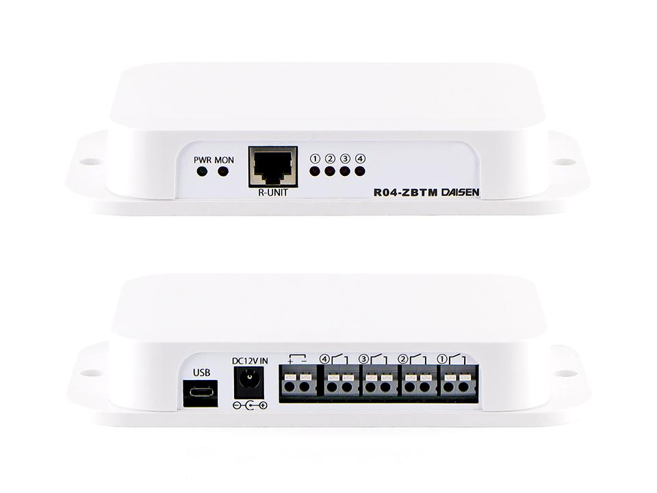 4点出力2.4GHz帯無線受信機外部ユニットセット