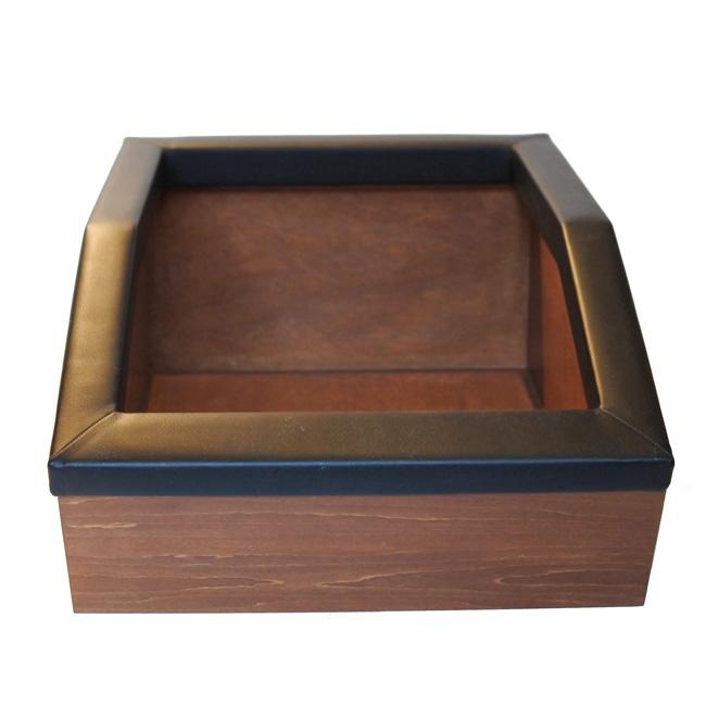 【ORIGINAL】WOOD LITTER-BOX/合皮×木製猫トイレ