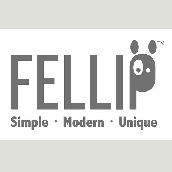 【ペットフードボウル】アクリルガラス猫用餌皿 / FelliP Kaleido Pet Bowl Lordly Puss - Felli Pet USA