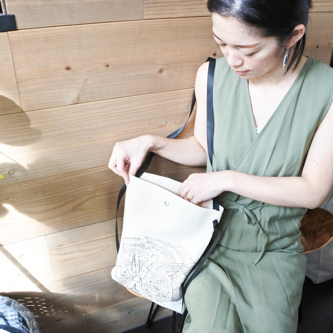 【ORIGINAL】Furbaby embroidery Canvas-Tote/猫刺繍キャンバストートバッグ