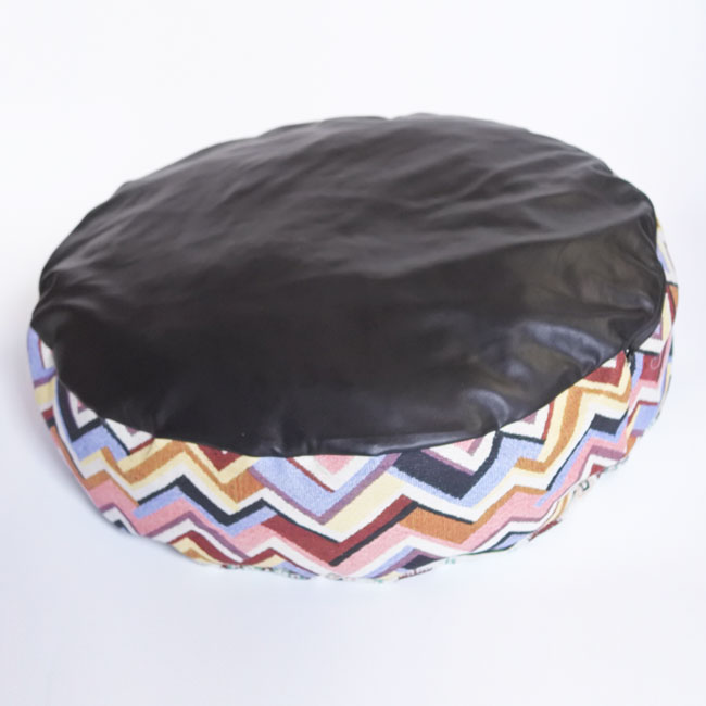 【ORIGINAL】JACQUARD ROUND CUSHION BED