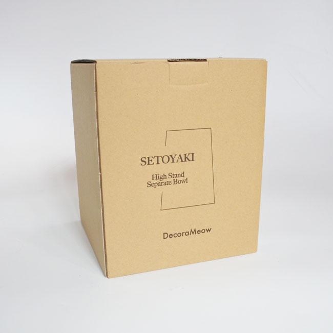 【ORIGINAL】SETOYAKI high stand separate bowl-Shallow/瀬戸焼フードボウル(浅皿)
