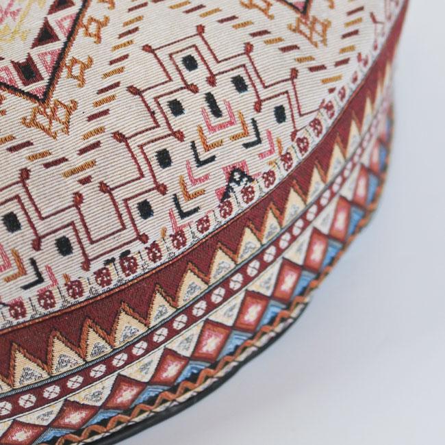 【ORIGINAL】JACQUARD ROUND CUSHION BED COVER&NUDE CUSHION(単品)