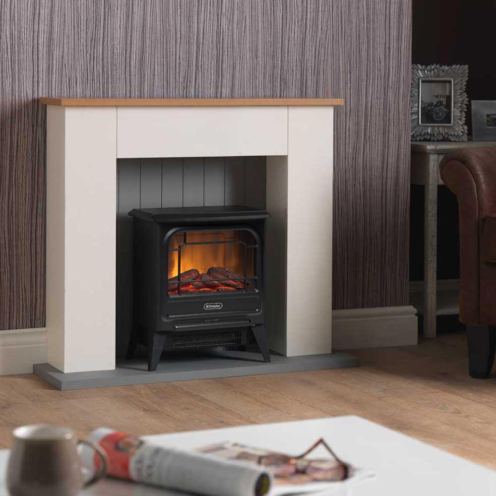 電気暖炉専用家具 マントルピース