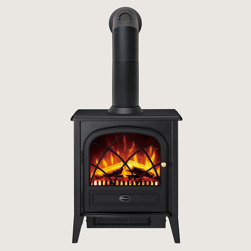 【NEW】煙突付き電気暖炉 RitzII&Stove Pipe