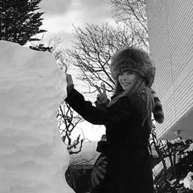 七宝焼き HOKKAIDO(ピンブローチ)
