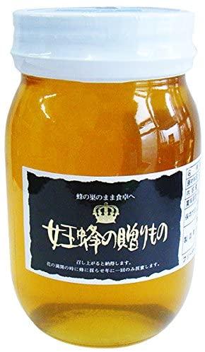 純粋蜂蜜! 【女王蜂の贈りもの】蜂蜜クローバー(600g)