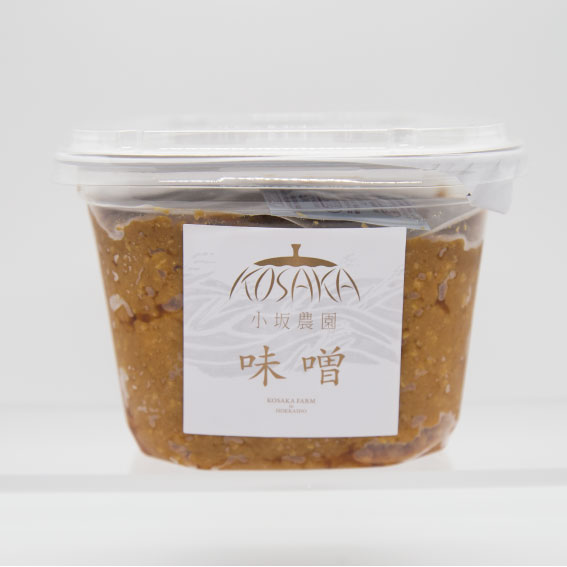 小坂農園のお味噌 700g (道内送料込み)