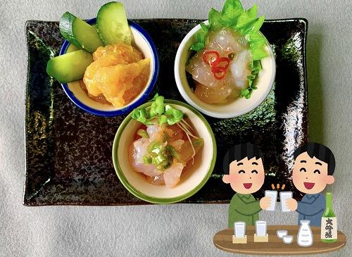 北海道羽幌産『甘エビの塩辛』3瓶セット☆北海道送料無料☆