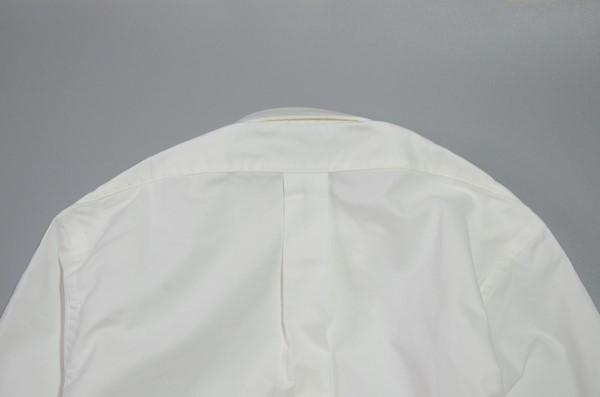 BROOKS BROTHERS / ブルックスブラザーズ / USA オックスフォード B.Dシャツ 14 1/2-32 / ホワイト