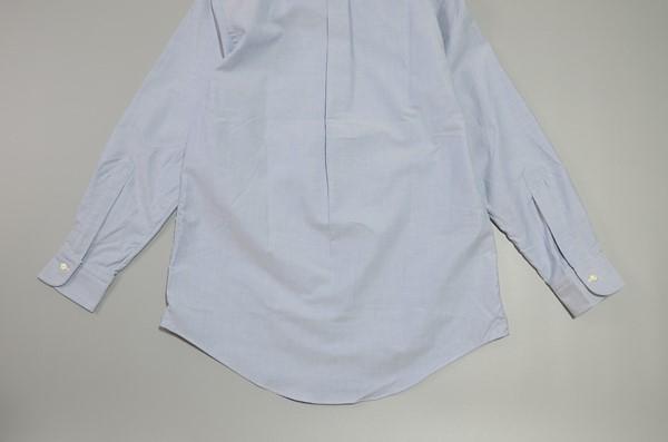 BROOKS BROTHERS / ブルックスブラザーズ / USA オックスフォード B.Dシャツ EXTRA SLIM 16-32 / サックスブルー