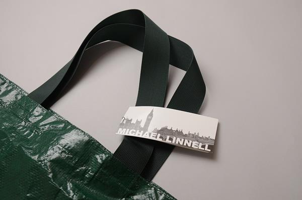 MICHAEL LINNELL / マイケルリンネル / トートバッグ / グリーン