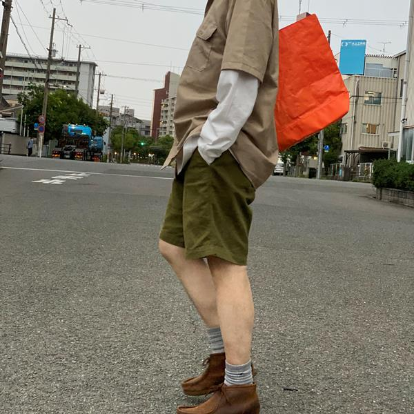 MICHAEL LINNELL / マイケルリンネル / トートバッグ / オレンジ
