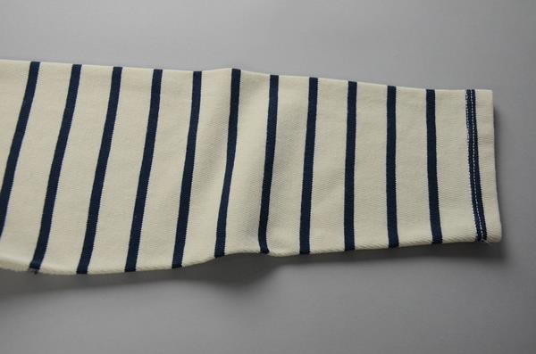 J.CREW / ジェイクルー / ロングスリーブノーティカルストライプTシャツ / ホワイト×ネイビー