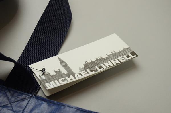 MICHAEL LINNELL / マイケルリンネル / トートバッグ / ネイビー