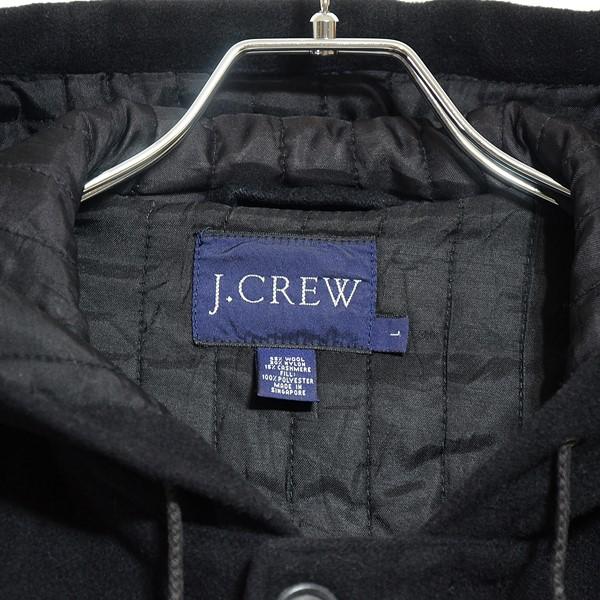 【USED】J.CREW / ジェイクルー / ウールロングパーカー / ブラック