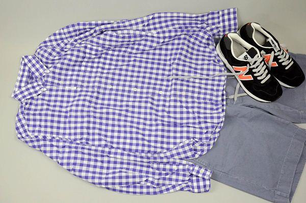 J.CREW / ジェイクルー / シークレットウォッシュライトウェイトB.Dシャツ / エステートパープル
