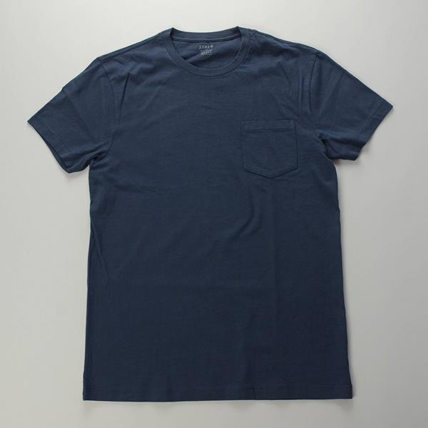 """【AUTUMN SALE】J.CREW / ジェイクルー / ブロークンインウォッシュドポケットTシャツ""""SLIM FIT"""" / ビンテージネイビー"""