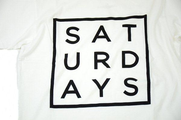 SATURDAYS SURF NYC / サタデーズサーフ ニューヨーク / サタデーズサーフ スクエア Tee / ホワイト