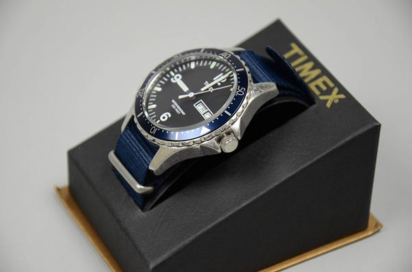 J.CREW×TIMEX / Andros Divers Watch / Green Lum / ジェイクルー×タイメックス / アンドロス ダイバーズウォッチ / グリーンラム