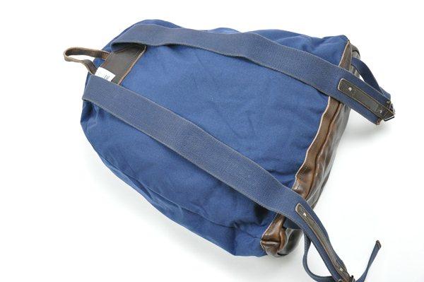 Rugby Ralph Lauren / Nylon & Leather Backpack / Dark Blue ラグビー ラルフローレン / ナイロンアンドレザーバックパック / ダークブルー