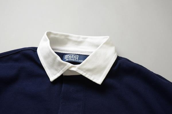POLO RALPH LAUREN / ポロラルフローレン / ザ ビッグ コレクション ラグビーシャツ / ネイビー