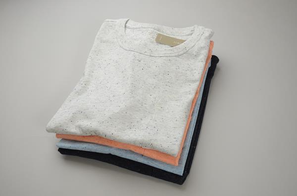 J.CREW / ジェイクルー / ネップポケットTシャツ / ロイヤルインディゴマルチ