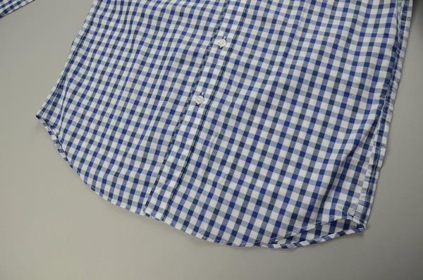 """】J.CREW / ジェイクルー / NEWウォッシュドボタンダウンシャツ""""SLIM FIT"""" / ブルーネイビーホワイトミディアムギンガム"""