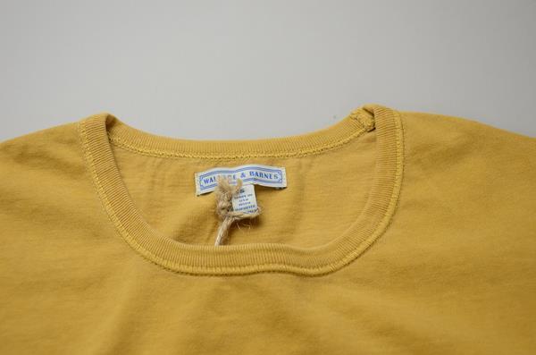 J.CREW / ジェイクルー / ウォレス&バーンズ チューブラーTシャツ / ゴールデンハニー