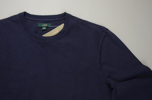 【AUTUMN SALE】J.CREW / ジェイクルー / 1994ヘリテージ ロングスリーブ Tシャツ / ネイビー