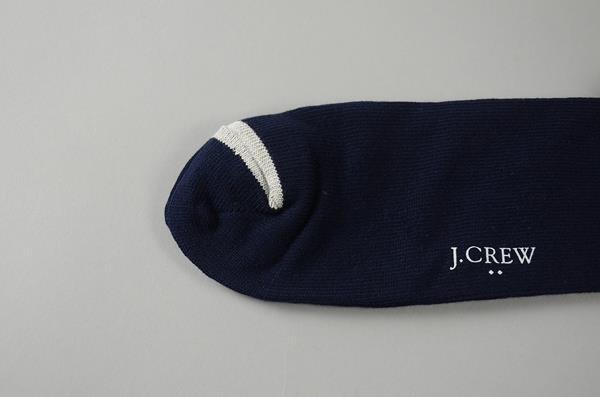 【10周年記念SALE 12/13まで】J.CREW / ジェイクルー / アンカーストライプソックス / ネイビー