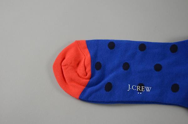 J.CREW / ジェイクルー / ジェイクルードットソックス / ブルーオレンジ