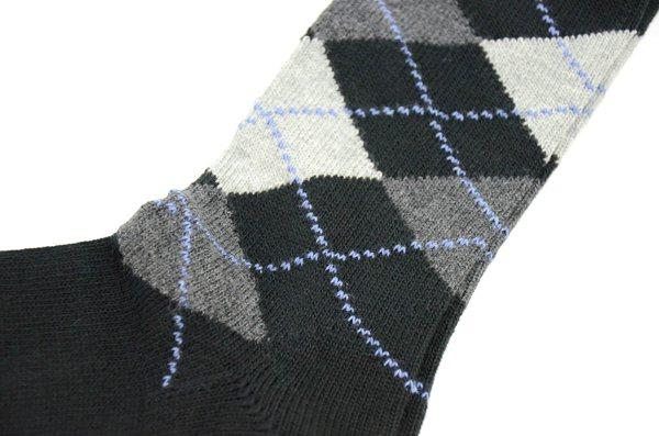 J.CREW / Argyle Socks / Black ジェイクルー / アーガイルソックス / ブラック