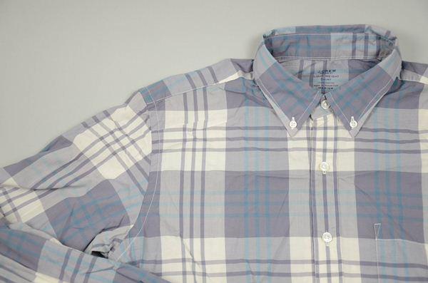 J.CREW / ジェイクルー / シークレットウォッシュライトウェイトB.Dシャツ / スレートグレー