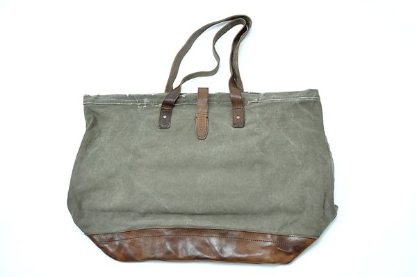 Rugby Ralph Lauren / New Canvas & Leather Tote / Olive ラグビー ラルフローレン / ニューキャンバス&レザートート / Olive