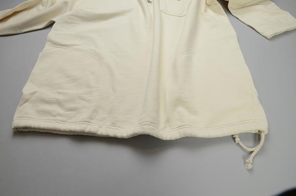 【BIG SIZE】J.CREW / ジェイクルー / ウォレス&バーンズ ハーフジップスウェットシャツ / ロウナチュラル