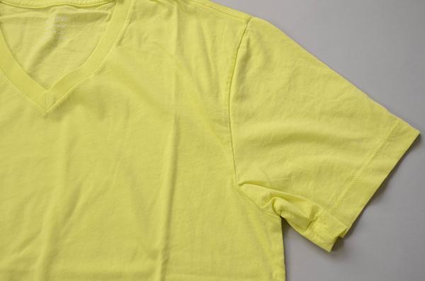 【スーパープライス】J.CREW / ジェイクルー / ブロークンインVネックTシャツ / レモンパルプ