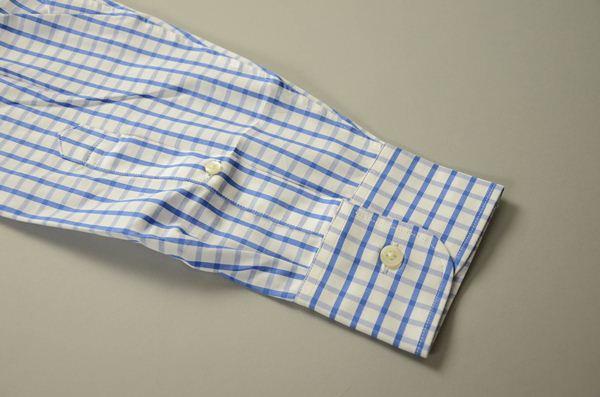J.CREW / ジェイクルー / 2Plyコットンボタンダウンドレスシャツ / ホワイトブライトブルー