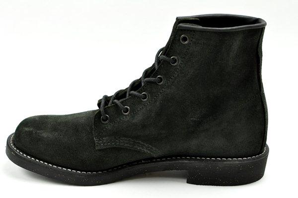 """Chippewa /  6"""" Plain Boots Odessa Reverse / Black  チペワ / 6インチプレーンブーツ オデッサリバース / ブラック"""