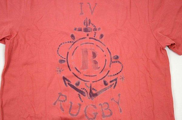 Rugby Ralph Lauren / ラグビー ラルフローレン / ハリソン アンカー Tee / ビンテージレッド