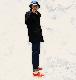 【10周年記念SALE 12/13まで】J.CREW / ジェイクルー / ドックピーコートウィズプリマロフト / ネイビー
