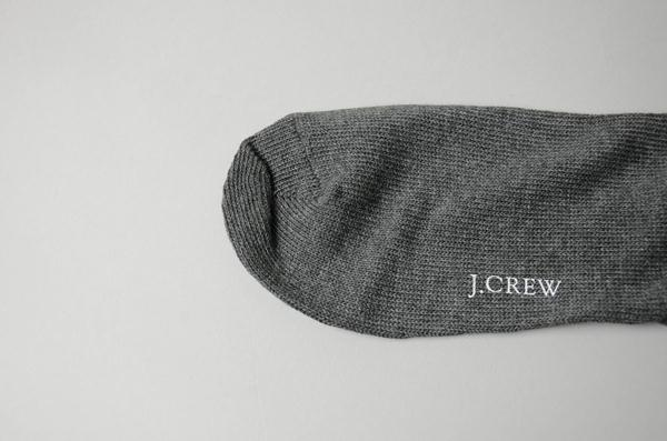 J.CREW / ジェイクルー / アーガイルソックス / チャコール×レッド×ブルー