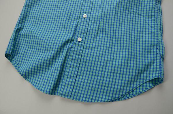 【CLEARANCE SALE】J.CREW / ジェイクルー / ウォッシュドコットンSS B.Dシャツ / サーフグリーン