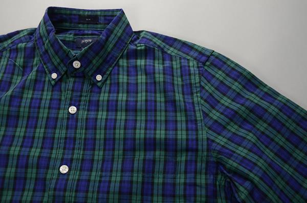 """】J.CREW / ジェイクルー / NEWウォッシュドボタンダウンシャツ""""SLIM FIT"""" / ディープロイヤル"""