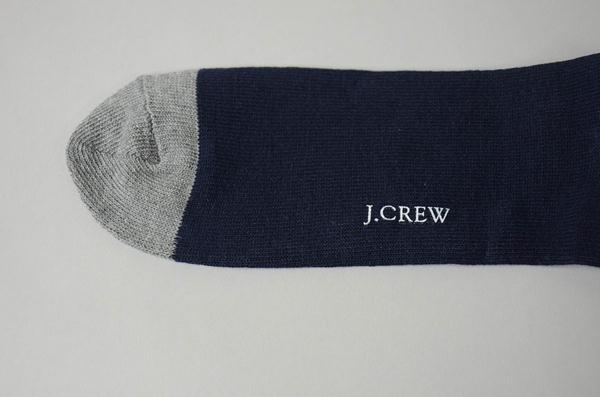 J.CREW / ジェイクルー / ラグビーストライプソックス / ネイビー×グレー