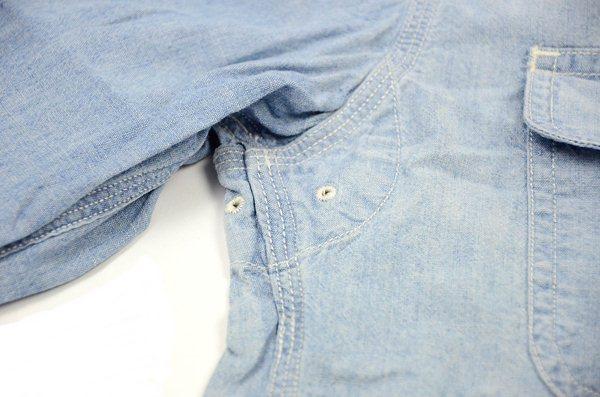 J.CREW / ジェイクルー / セルビッジシャンブレーワークシャツ / ストーンブルー