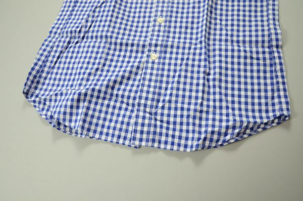 J J.CREW / ジェイクルー / ウォッシュドボタンダウンシャツ / ネイビーホワイトミディアムギンガム